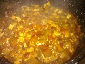 Curry de tofu aux aubergines dans Plats gouter-017-300x224
